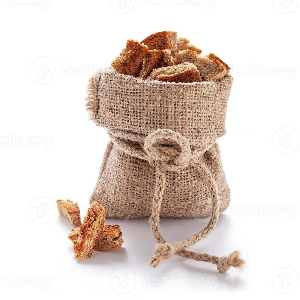 Slices of rye bread photo