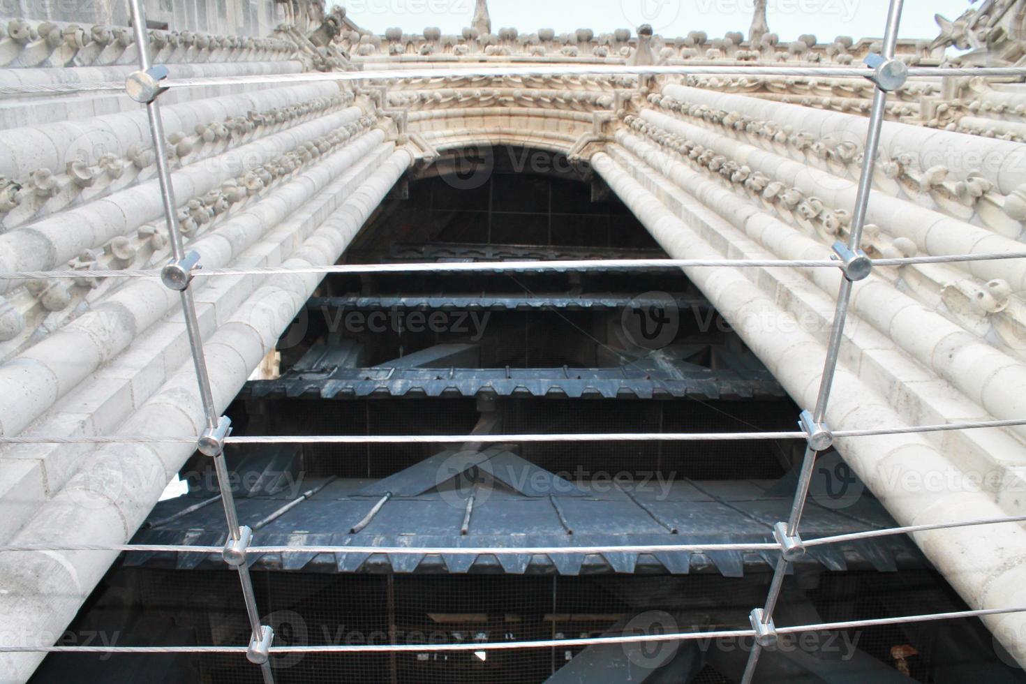 arch of Notre Dame de Paris photo
