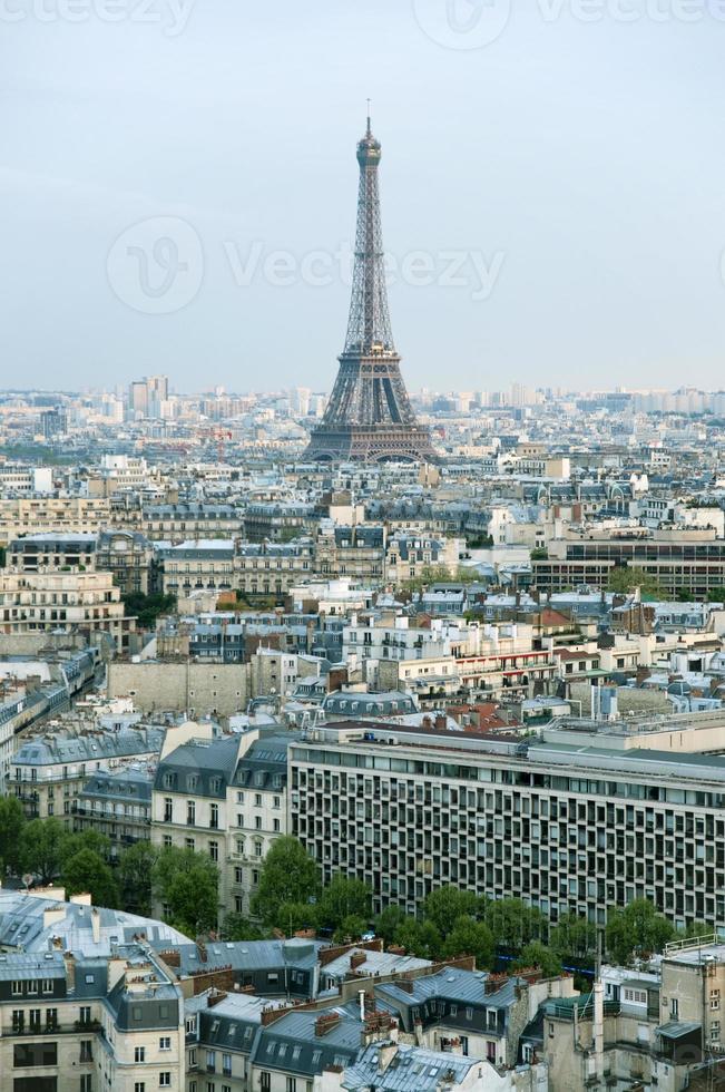 skyline van Parijs foto