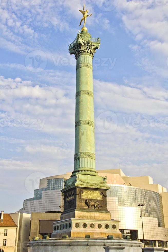 The Place de la Bastille, Paris photo