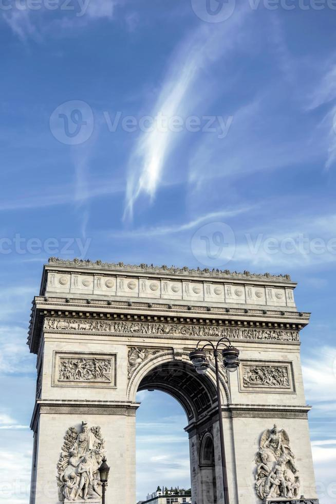 Arc de Triomphei in Paris photo