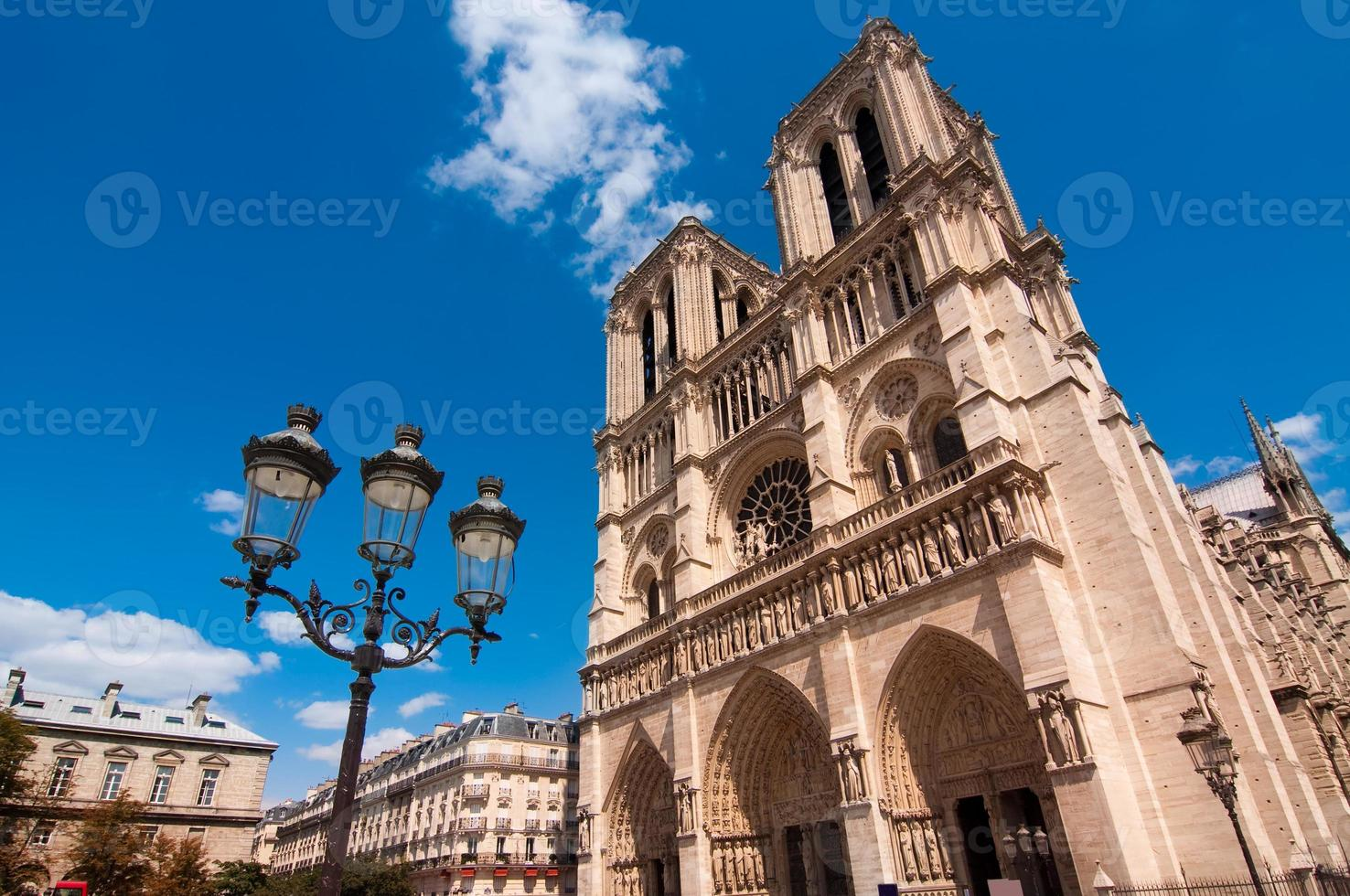 Notre Dame de París, Francia foto