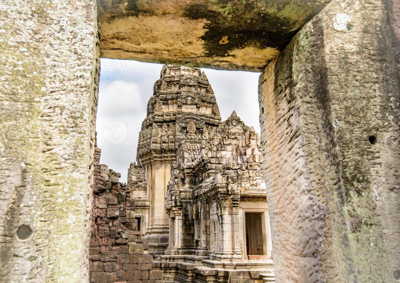 Ancient Historical Park Asian temples and culture photo