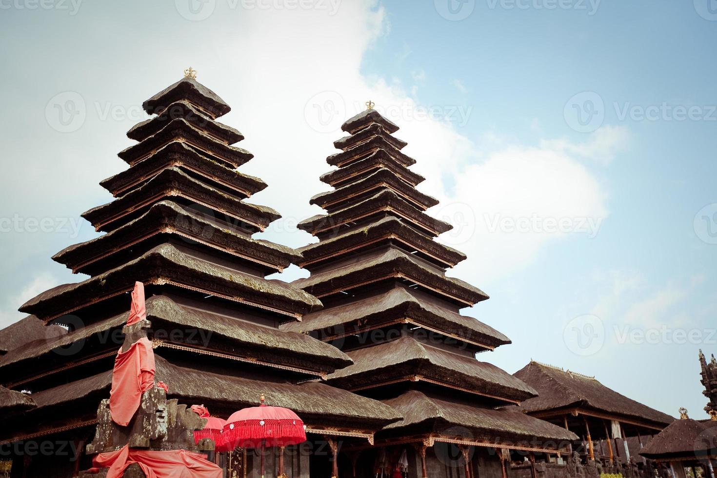 Besakih complex Pura Penataran Agung , Bali, Indonesia photo