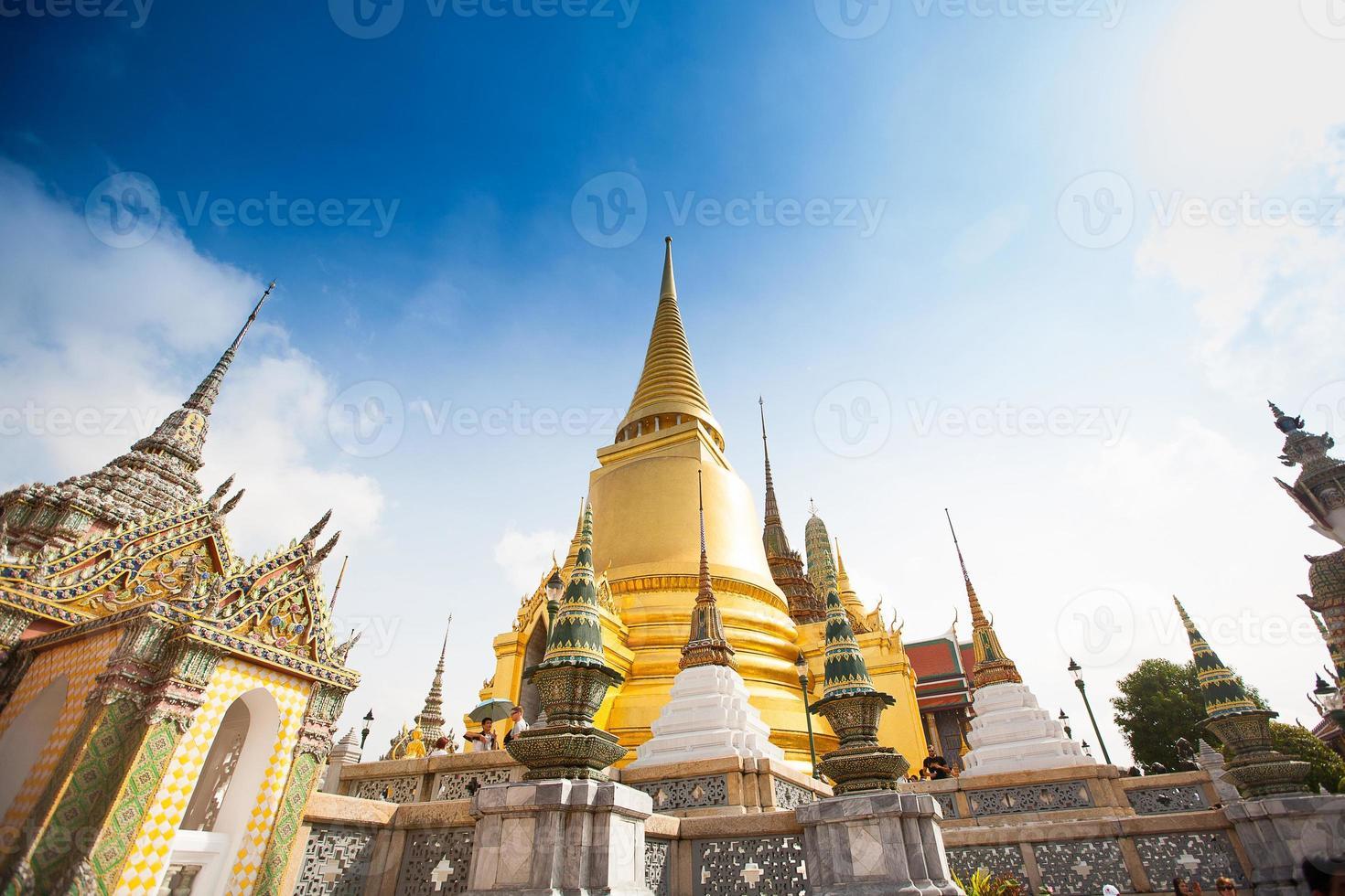 koninklijk groot paleis in bangkok foto