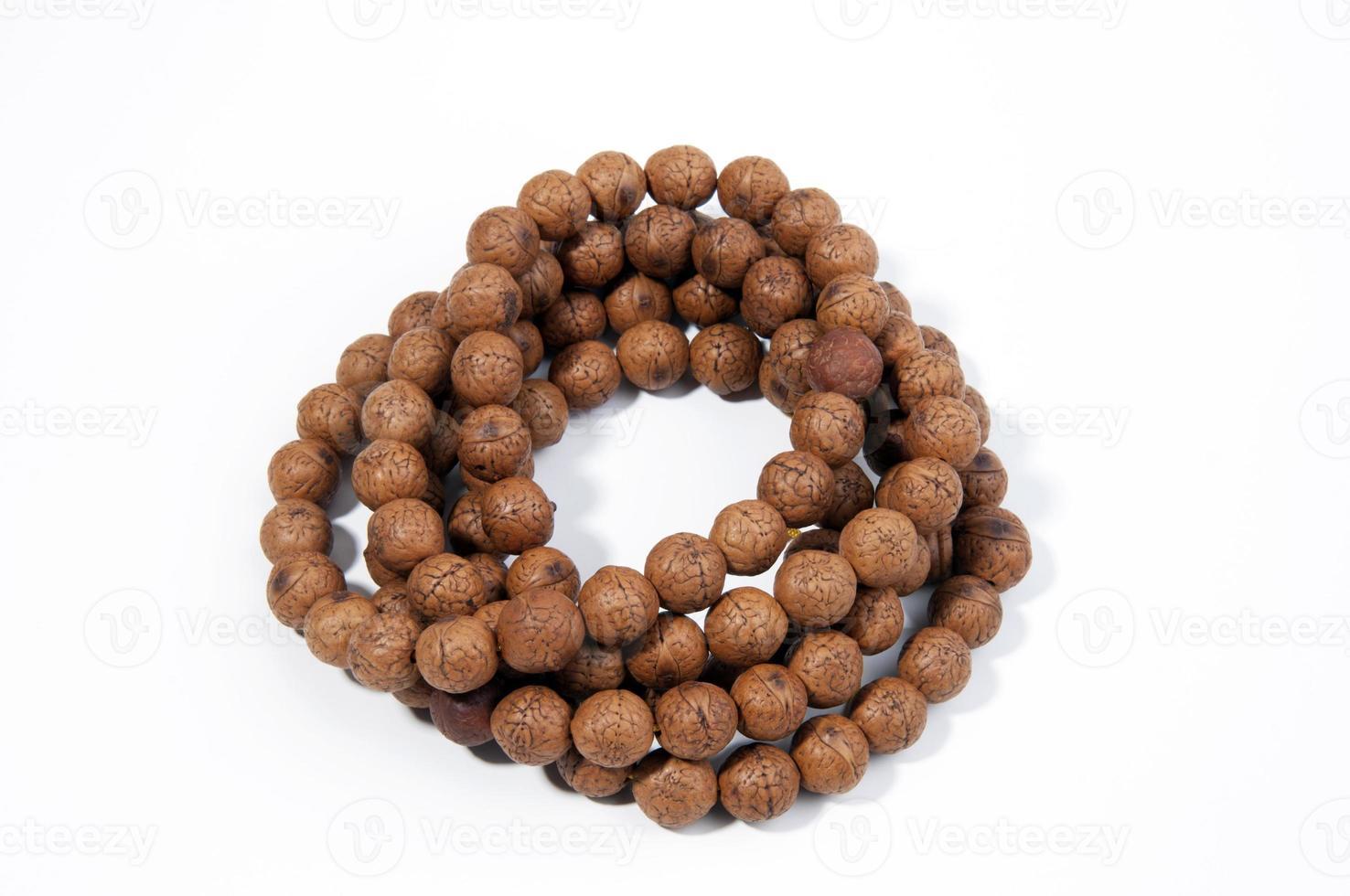 Beads closeup photo