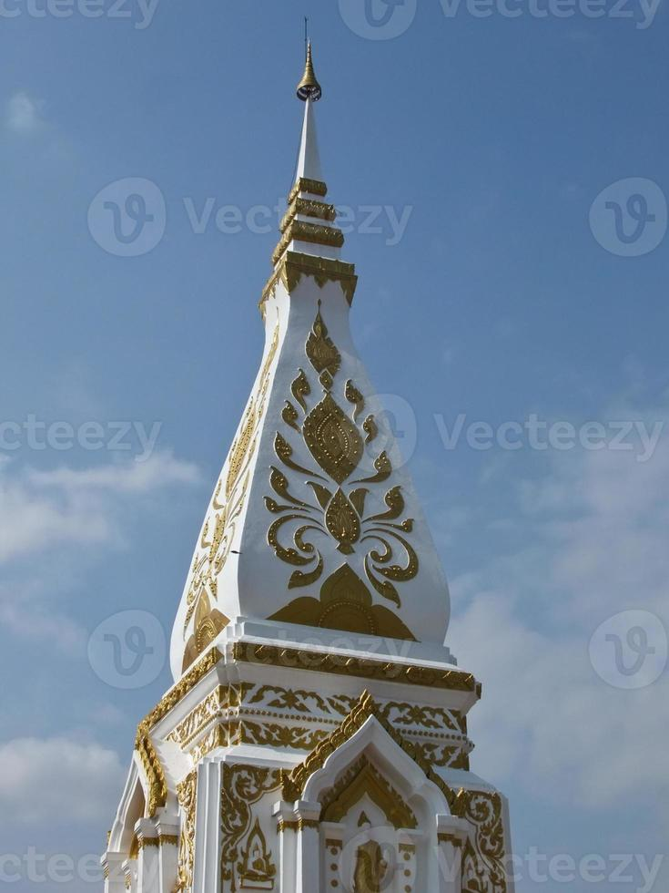 Phra that Prasit  pagoda in Nakhon Phanom, Thailand photo