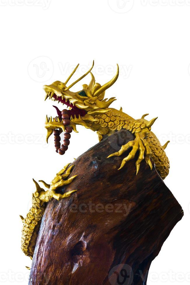 Golden dragon. photo