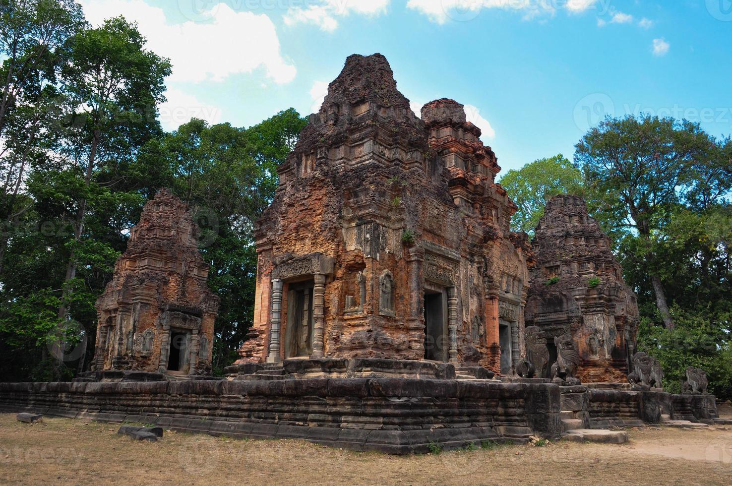 Beautiful view of  Preah Ko Wat in Siem Reap photo