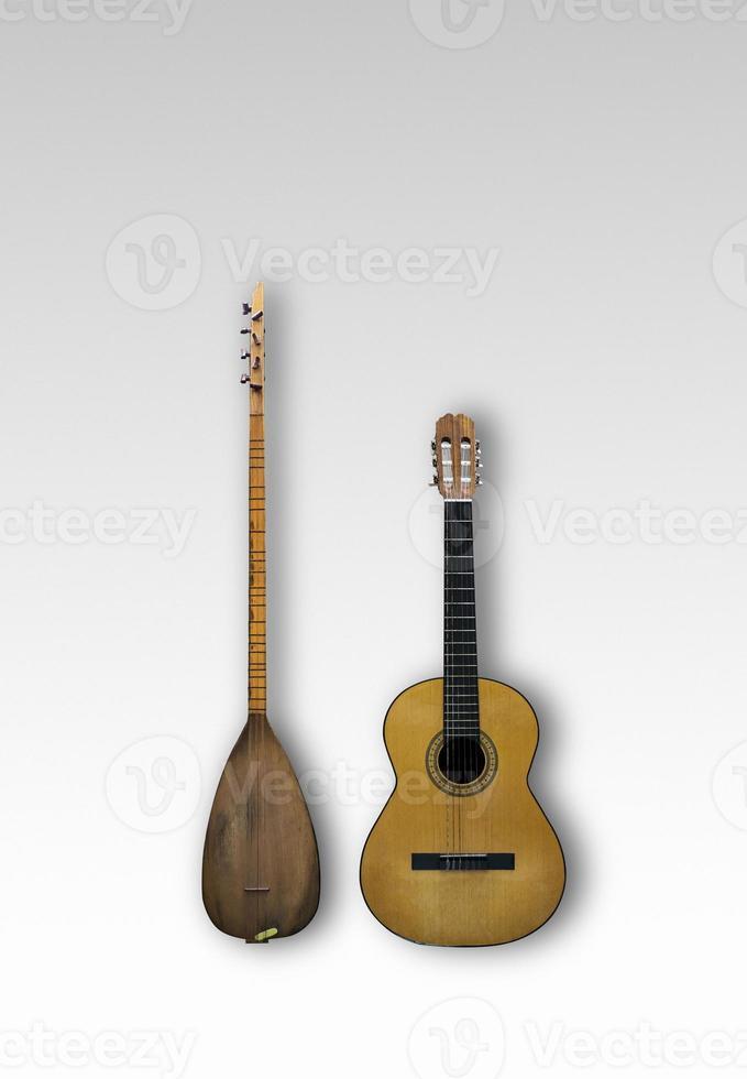 Baglama and Guitar photo