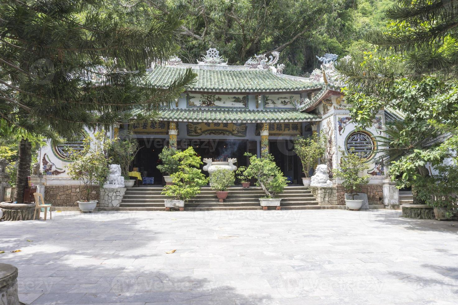 Antique pagoda photo