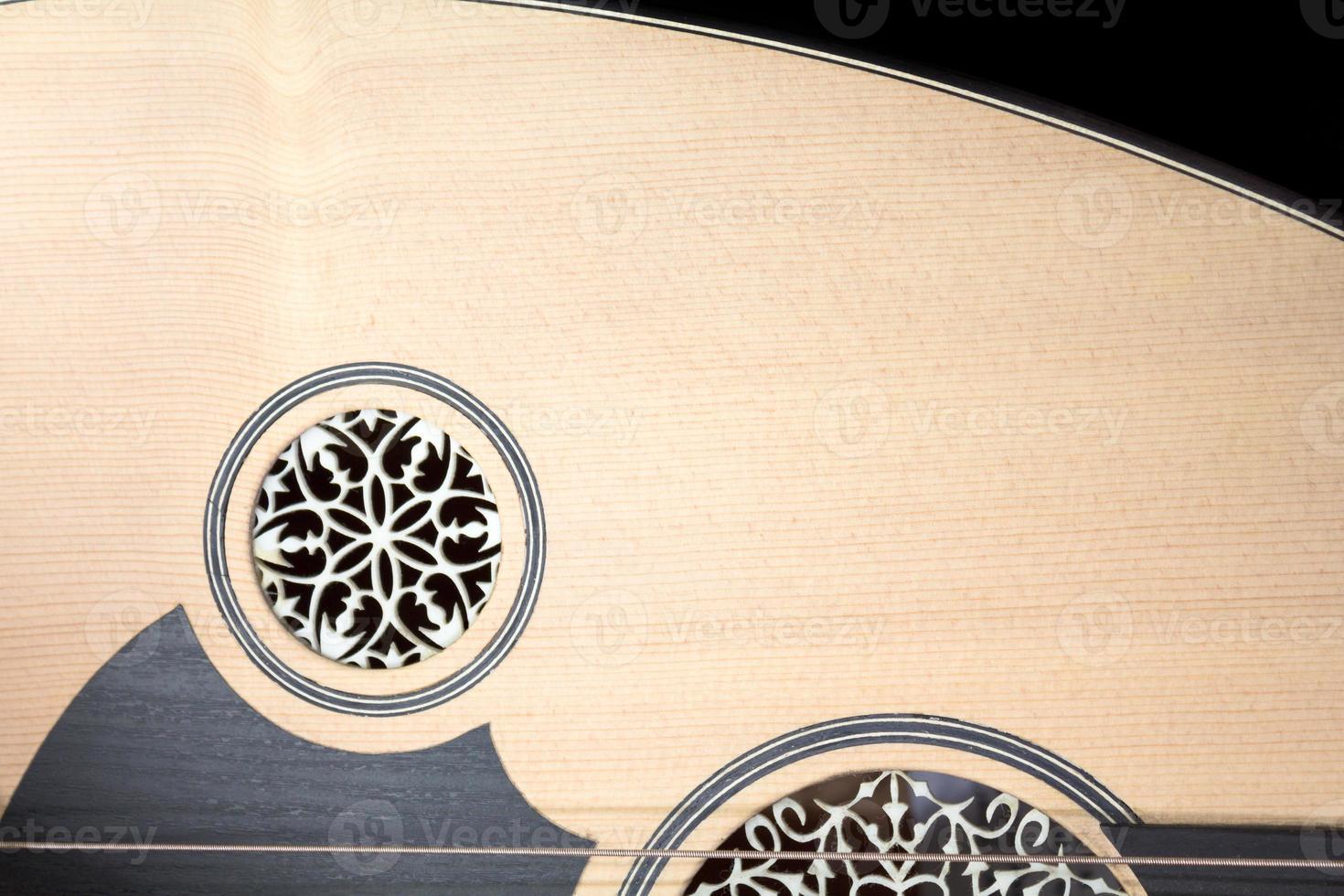 Lute detail photo