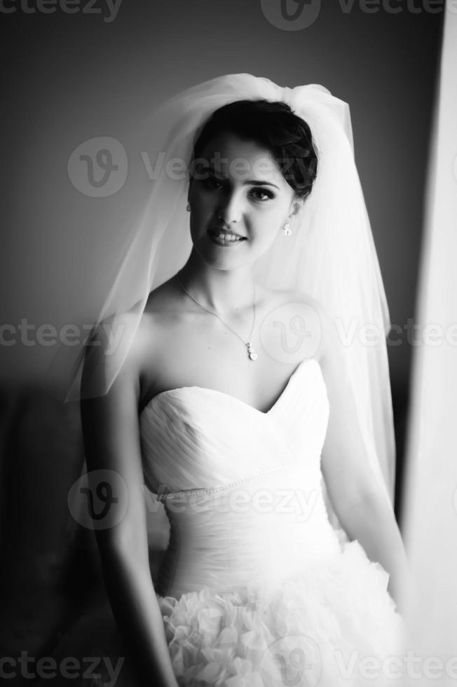 Gorgeous bride photo