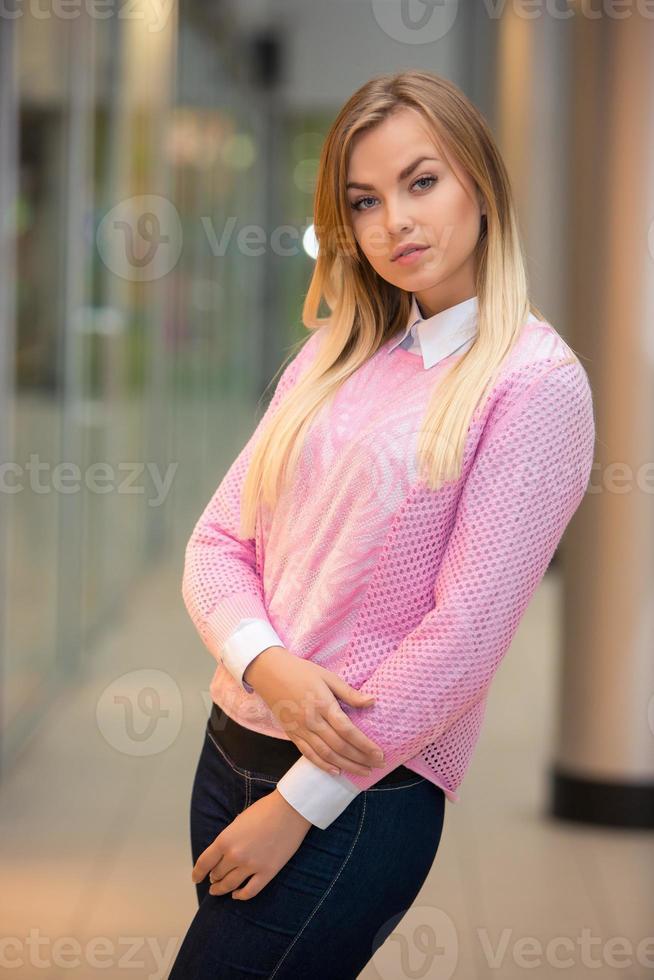 Retrato de una muchacha bonita foto