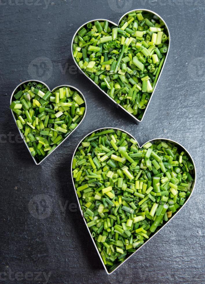 amo las hierbas (cebollino) foto