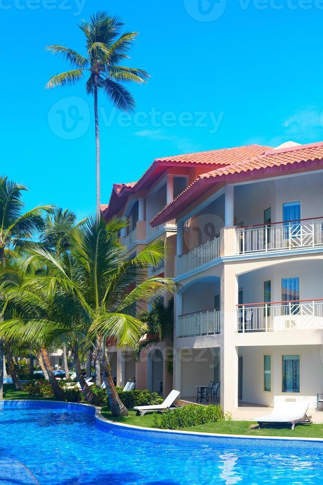 Tropical resort. photo