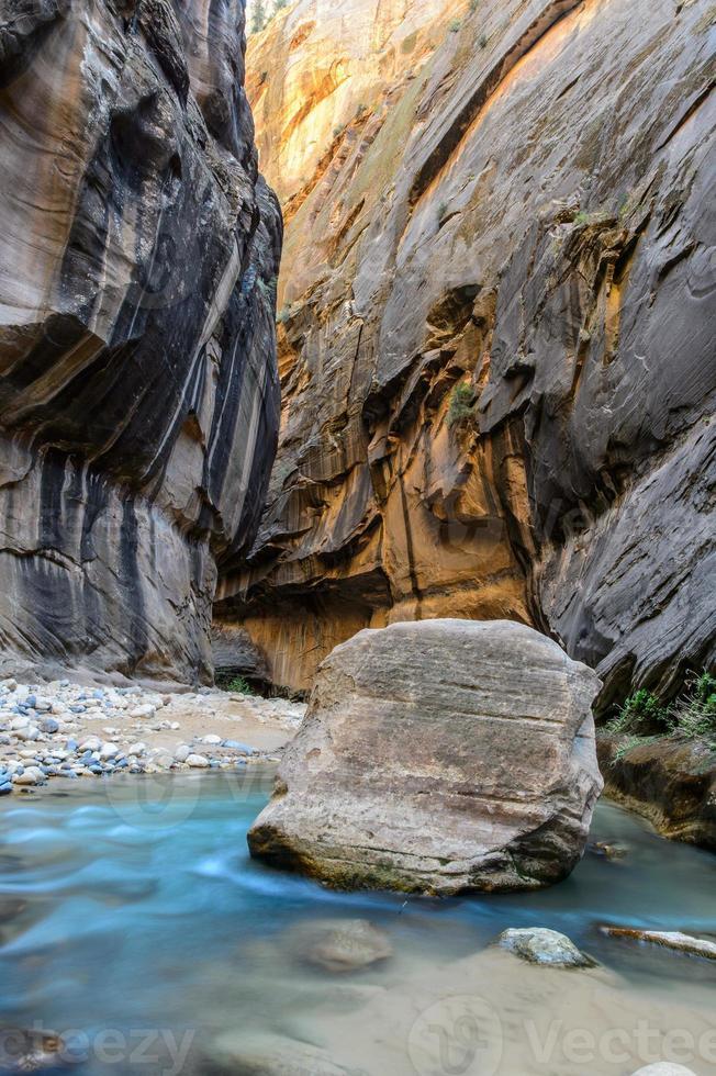 The narrows, Zion National park, USA photo
