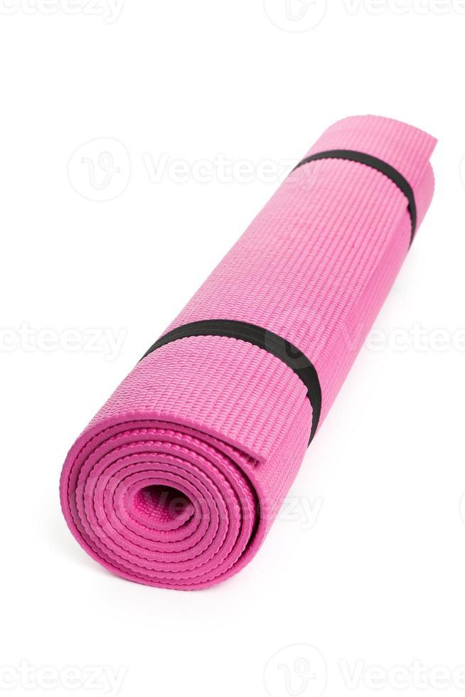 estera de yoga foto