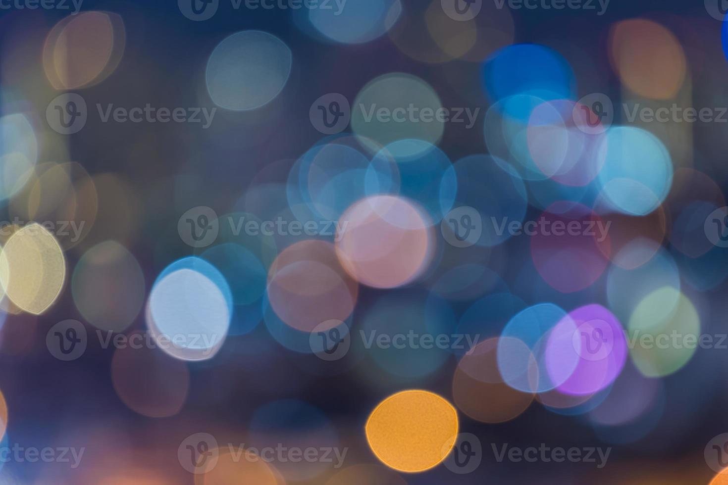 Bright colorful bokeh background photo
