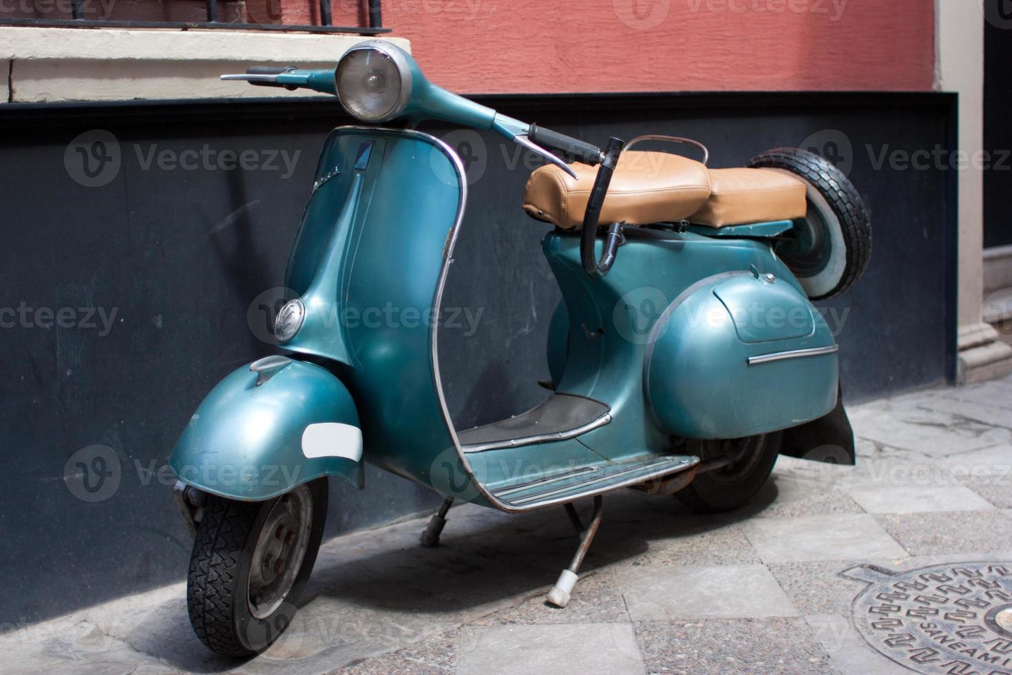 classic motorbike photo