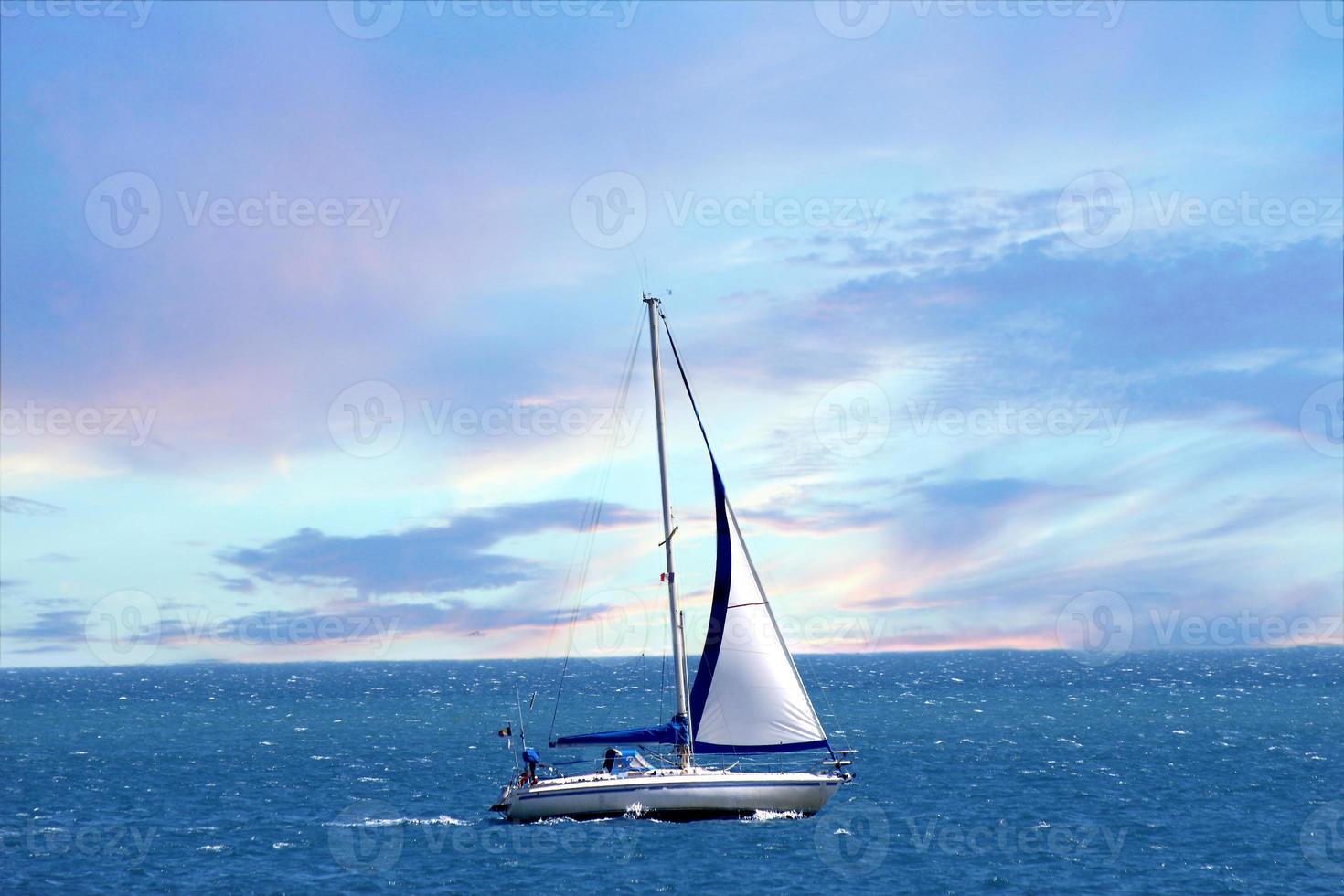 barco de vela foto