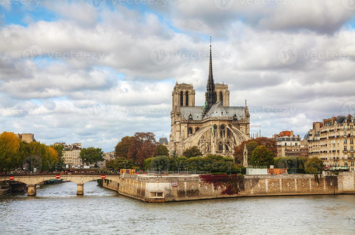 Notre Dame de Paris cathedral photo