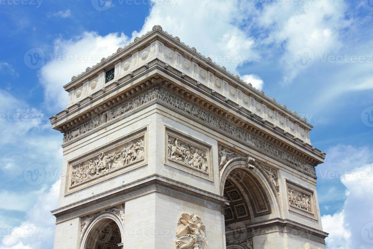 Triumphal Arch, Paris photo