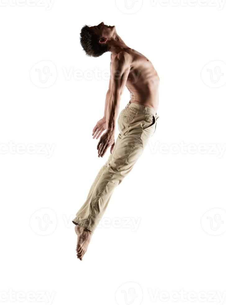 Caucasian male dancer photo
