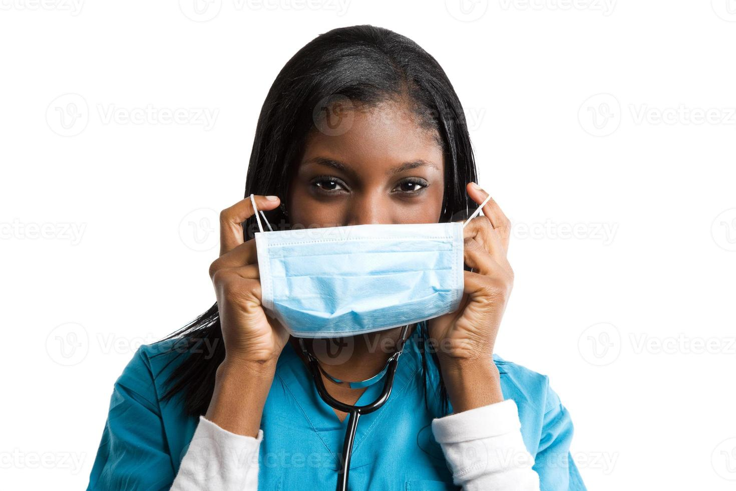 African american nurse photo