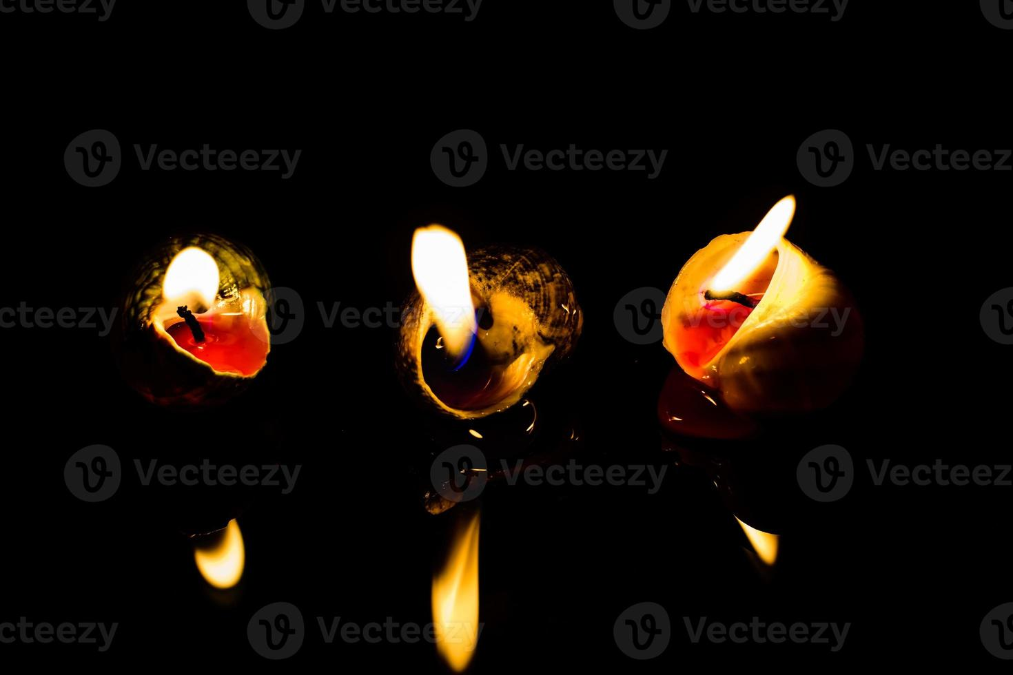 Light of candle photo