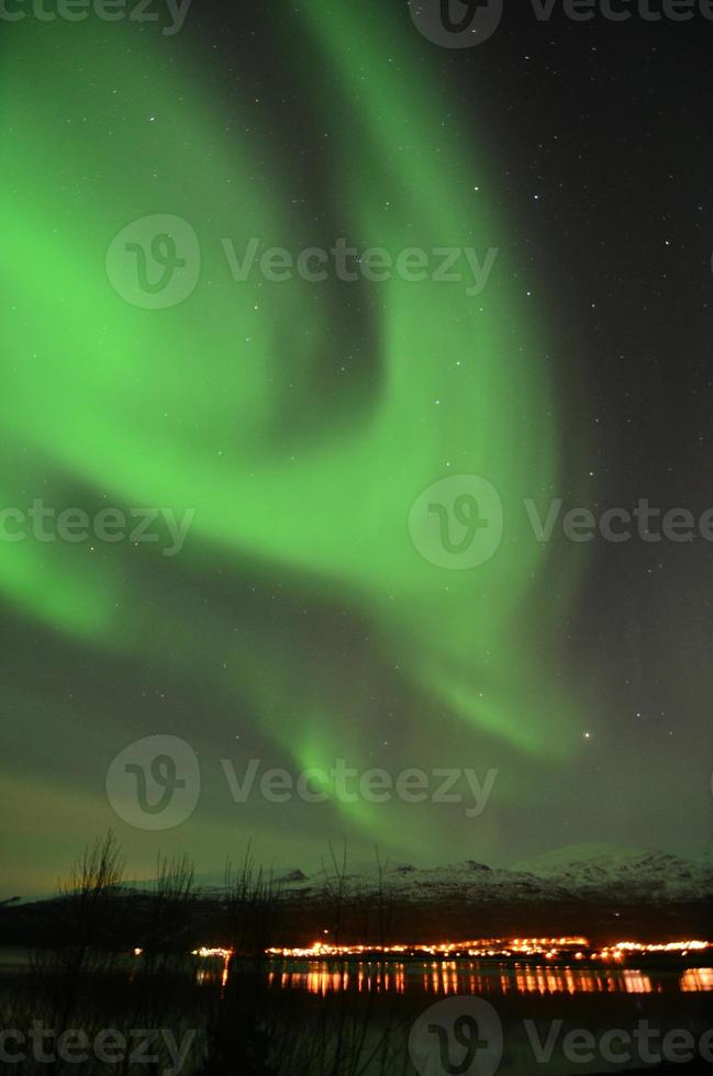 Northern lights in northern Norway photo