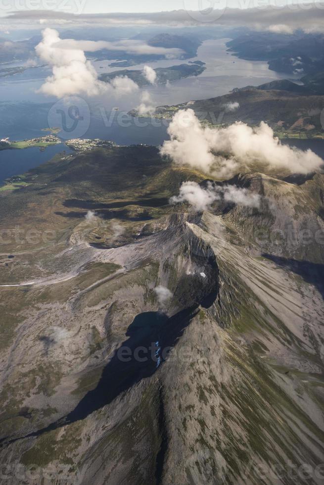 Norway - Aerial photo of Norway