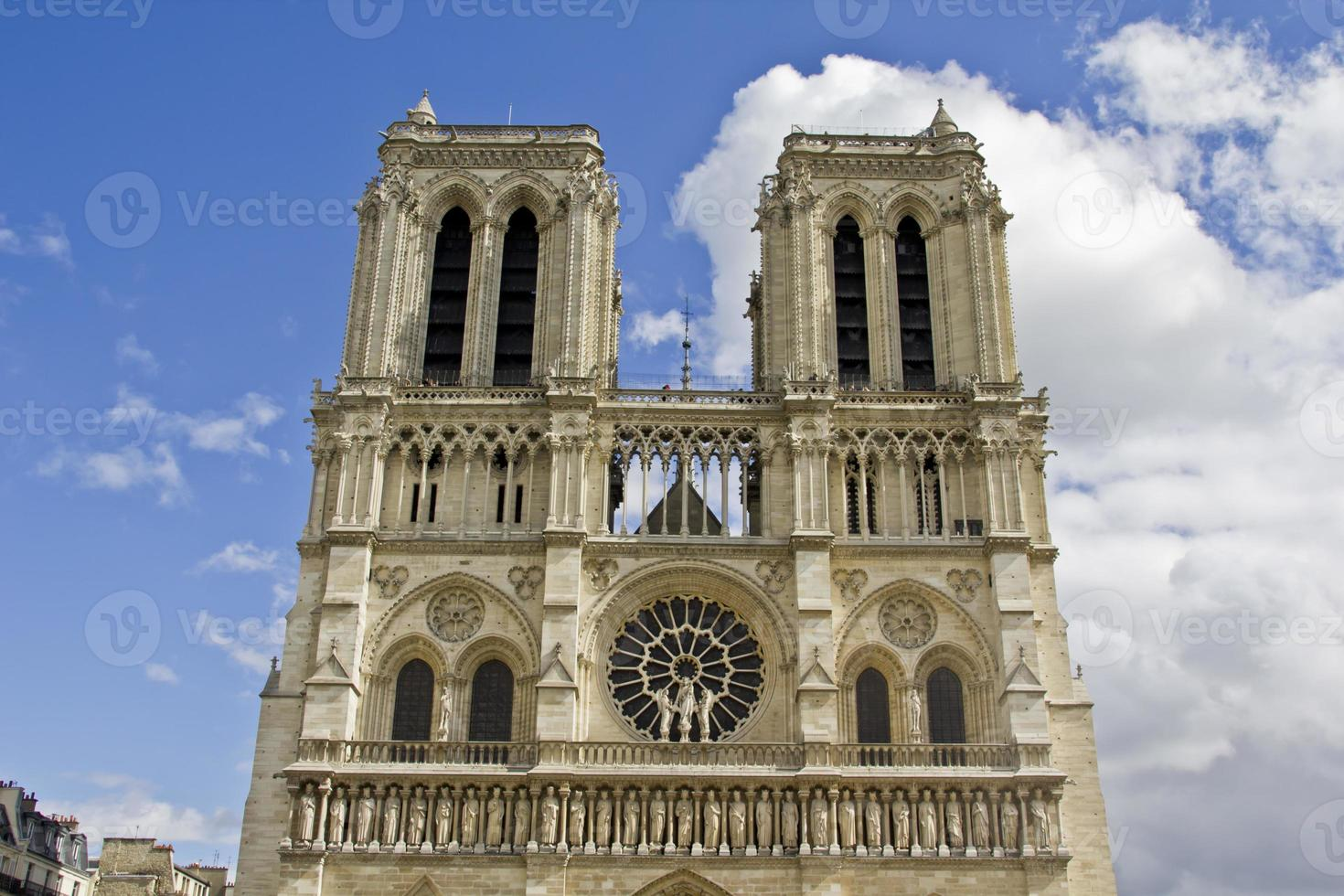 Notre Dame en París foto