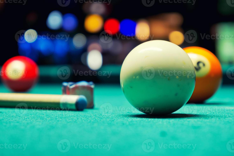bolas de billar foto