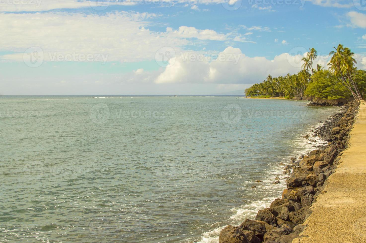 Lahaina beach photo