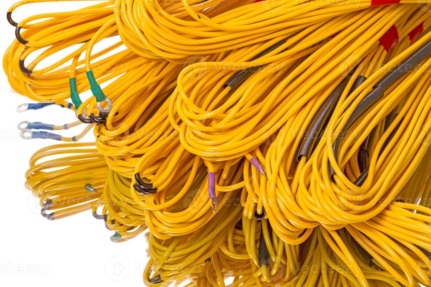 cable de equipo foto