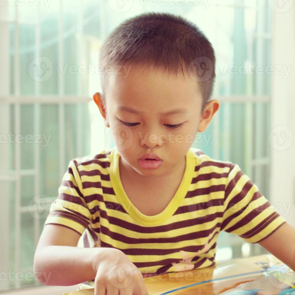 Asian kid photo