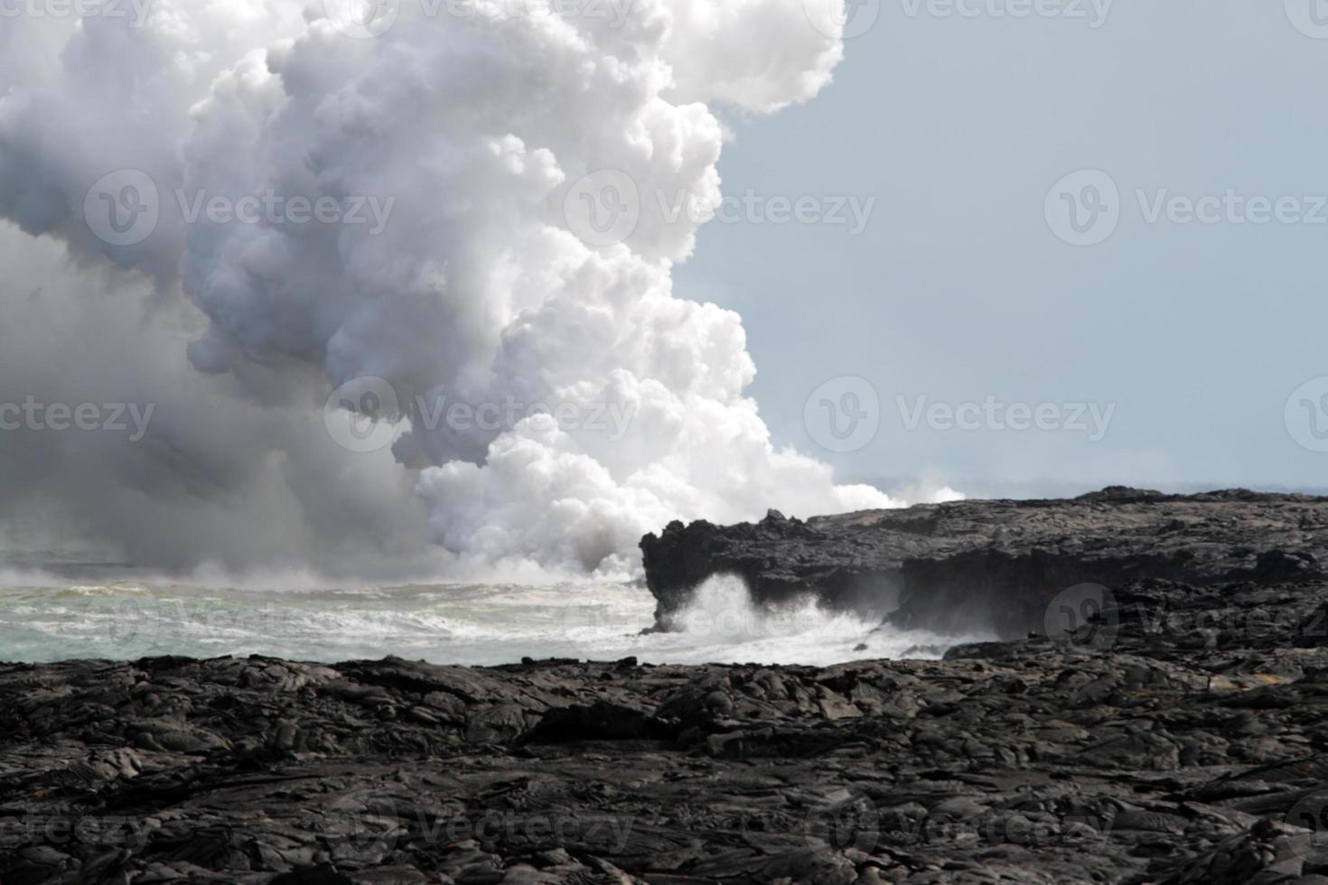 parque nacional de los volcanes de hawaii, estados unidos foto