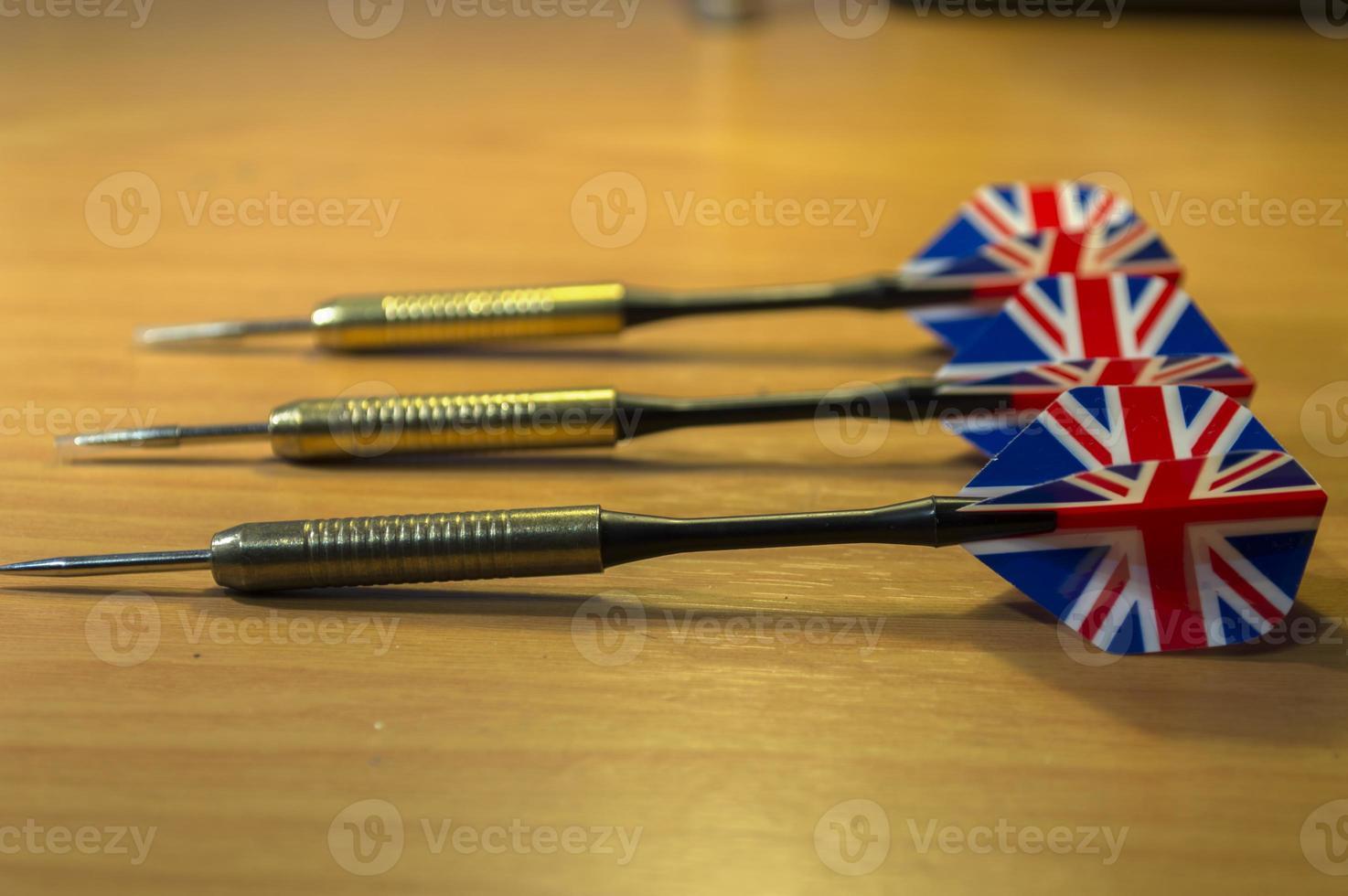 UK/British dart arrows photo