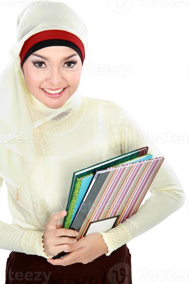 muslim asian student photo