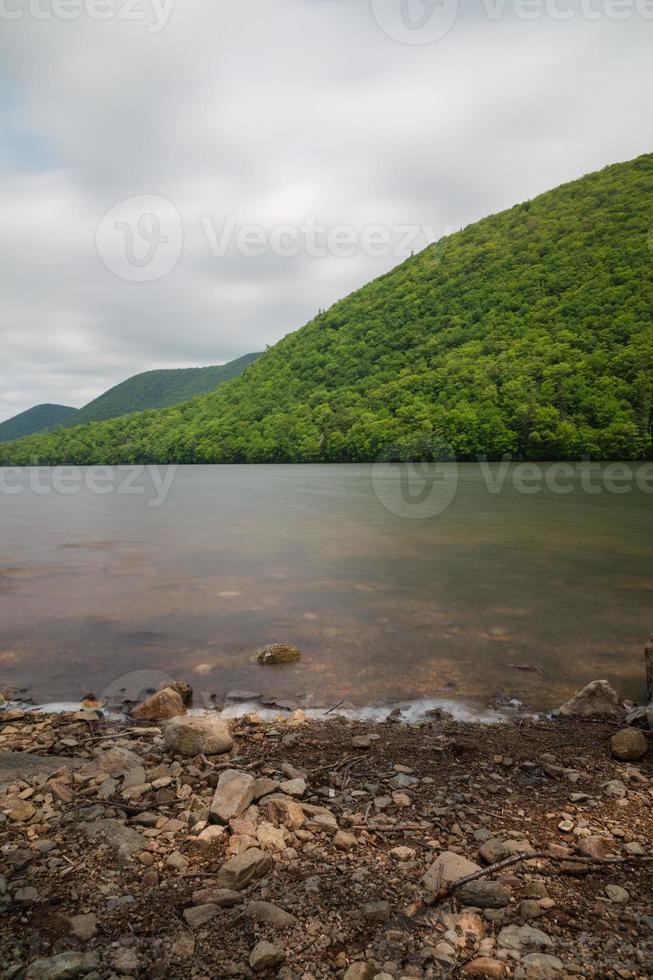 colinas y lagos en cabo bretón foto