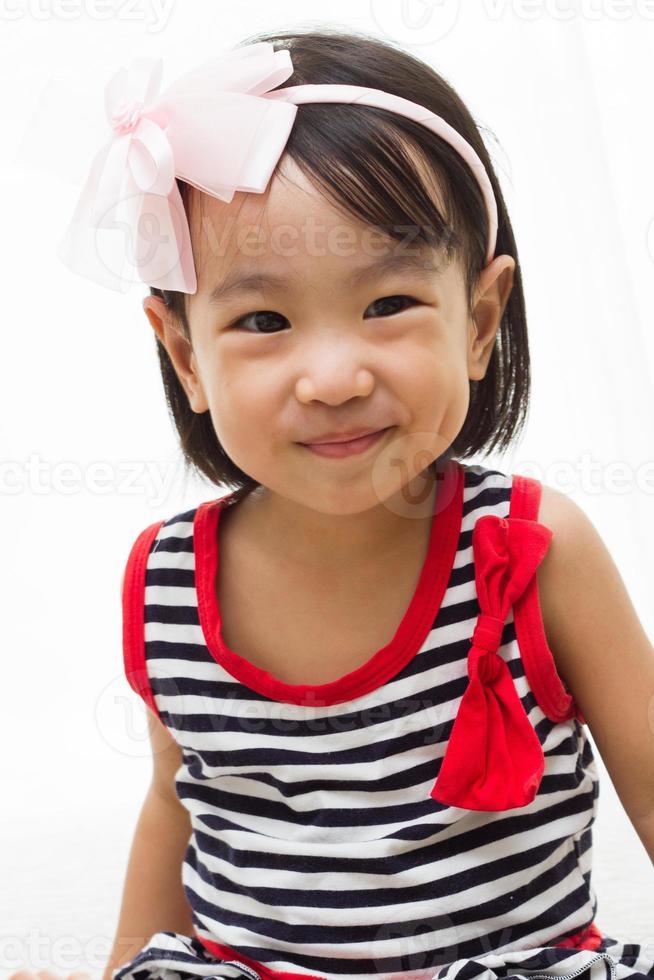 felices niños chinos asiáticos foto