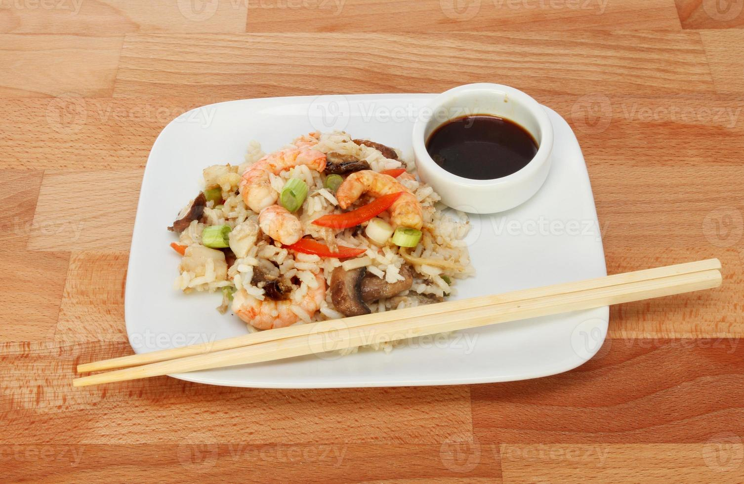 Asian meal photo