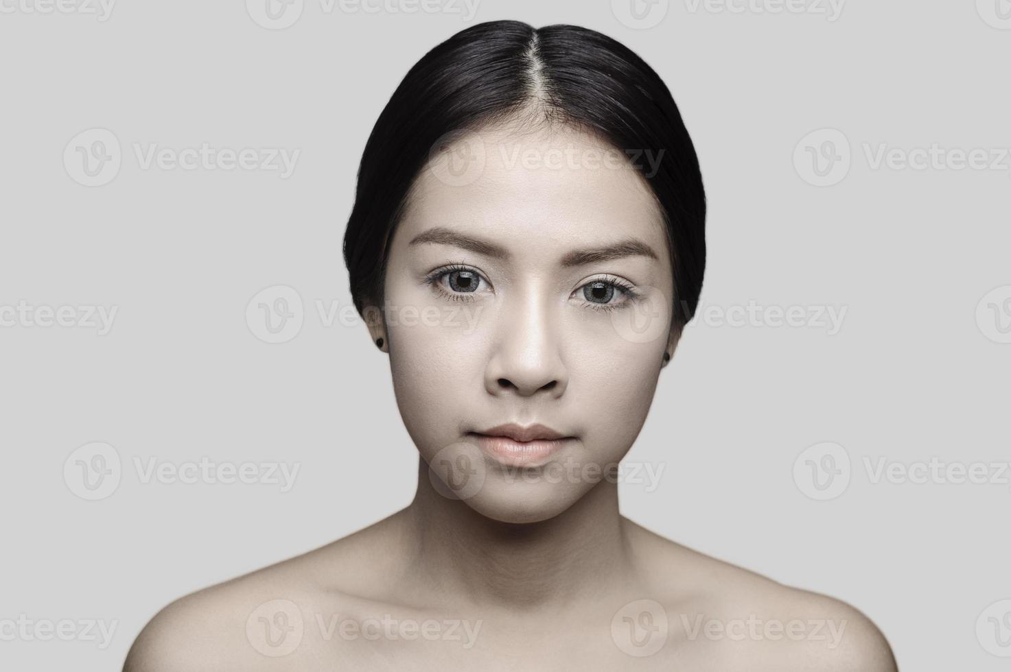 Beautiful asian woman model photo