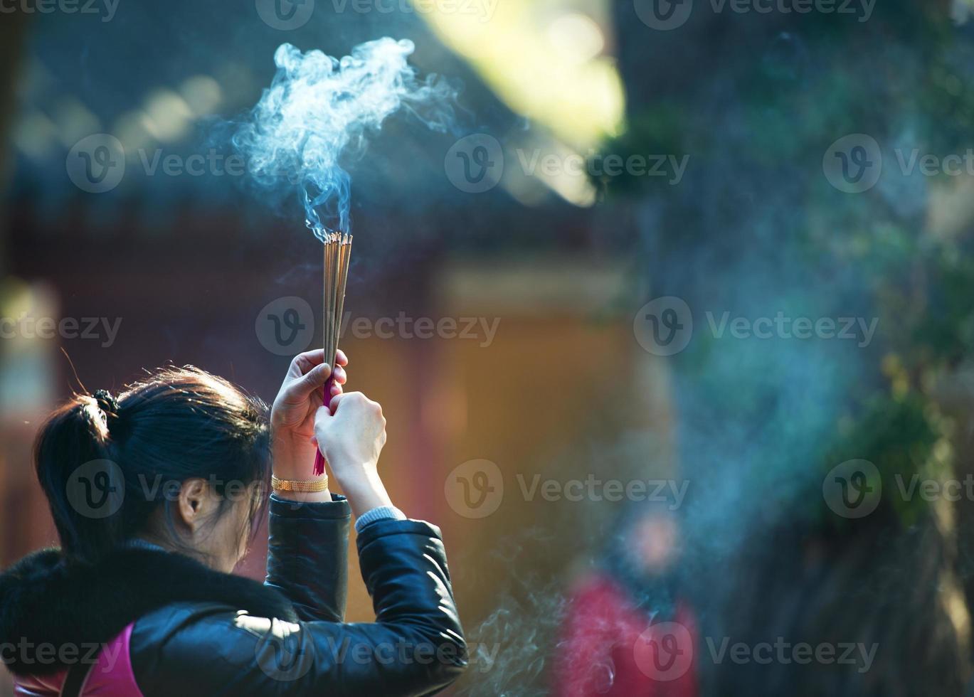 fe asiática foto