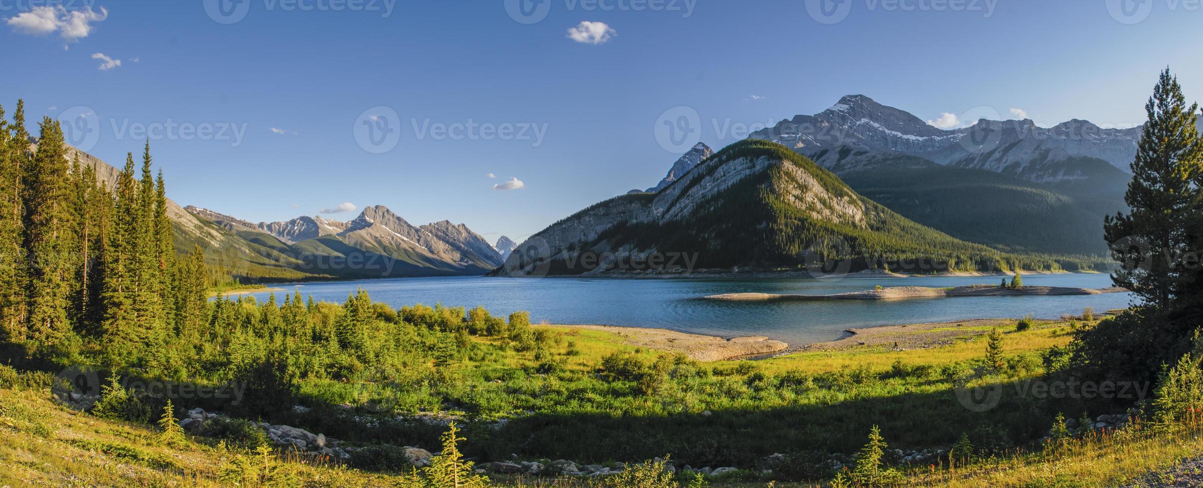 verano en las montañas foto