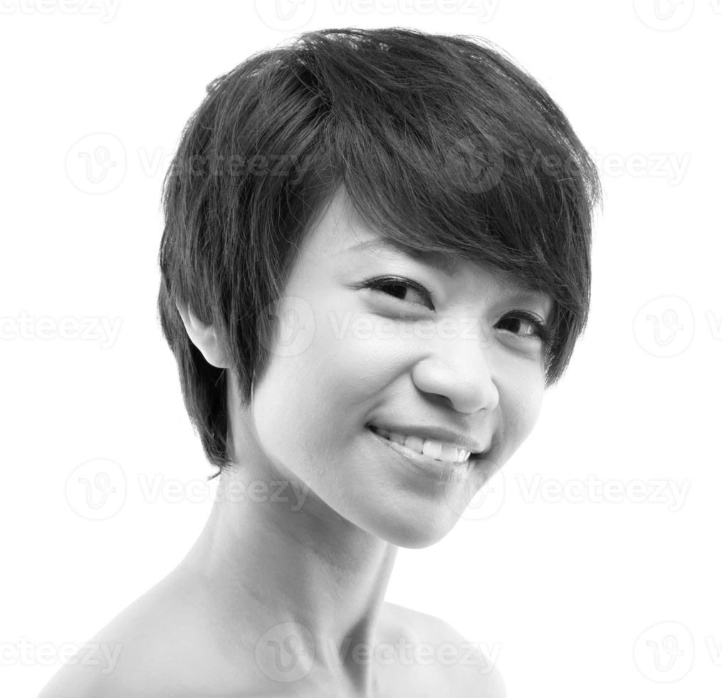 mujer asiática foto