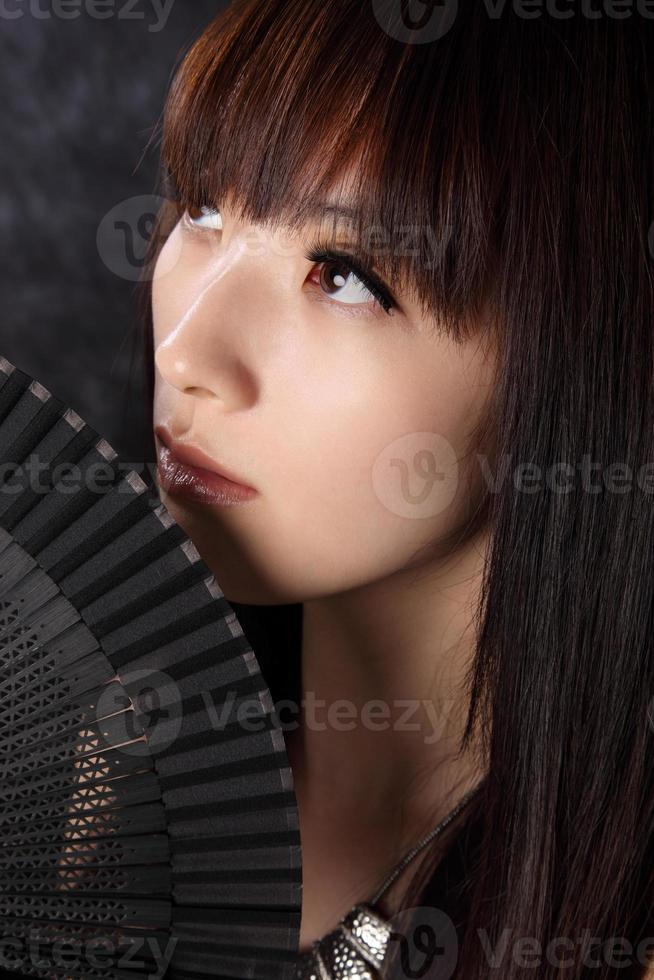 belleza asiática foto