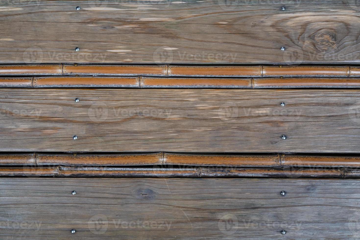 Fondo de panel de madera japonesa foto