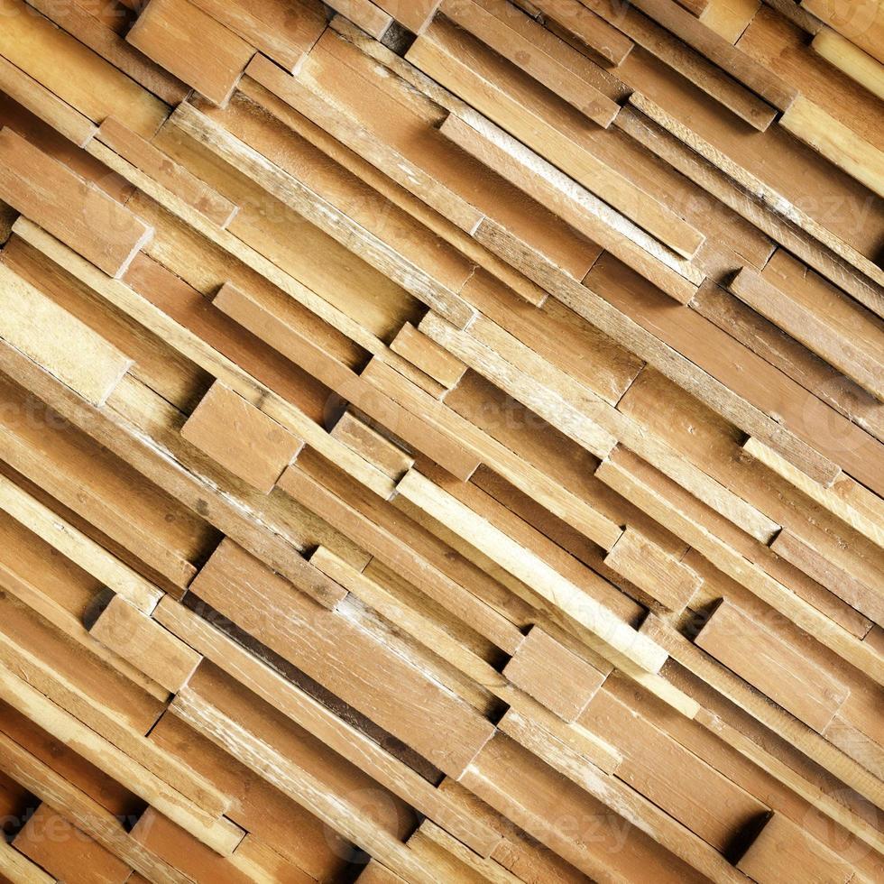 panel de tablones de madera foto